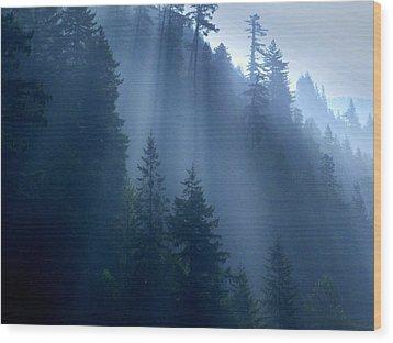 Smokey Wood Print