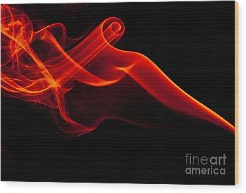 Smokin Wood Print by Anthony Sacco