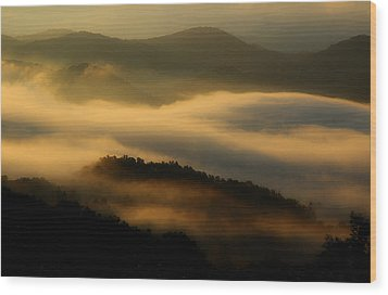 Smoky Mountain Spirits Wood Print by Michael Eingle