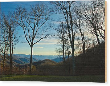 Wood Print featuring the photograph Smoky Mountain Splendor by Dee Dee  Whittle