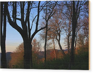 Wood Print featuring the photograph Smoky Mountains North Carolina by Mountains to the Sea Photo