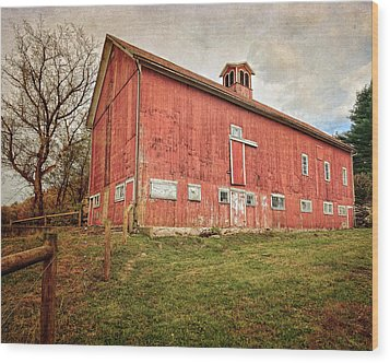 Smyrski Farm  Wood Print by Bill Wakeley