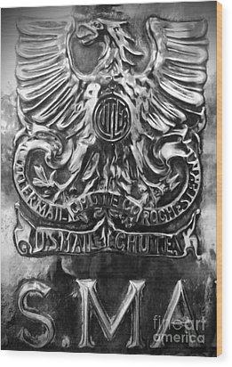 Snail Mail Wood Print by James Aiken