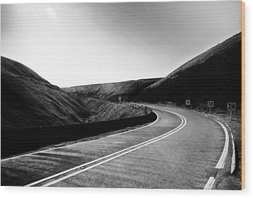 Wood Print featuring the photograph Snake Pass by Stephen Taylor