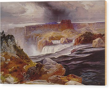 Snake River Idaho 1876 Wood Print by Unknown