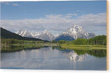 Snake River In Grand Teton  Wood Print