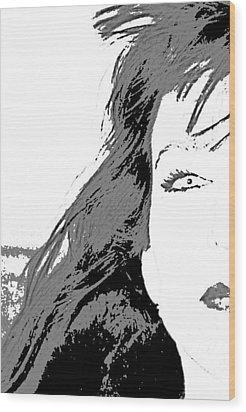 Snow White Wood Print by Joe Serrano