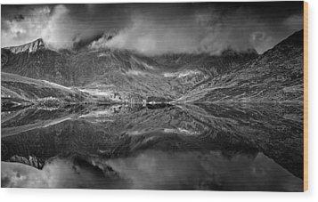Snowdonia Wood Print by John Chivers