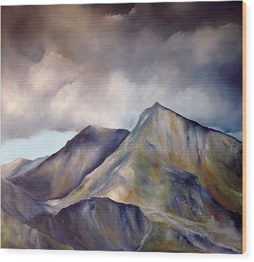 Snowdonia  Wood Print by Neil Kinsey Fagan
