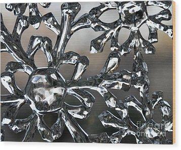 Snowflake Wood Print