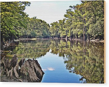 Wood Print featuring the photograph Snows Lake by Linda Brown