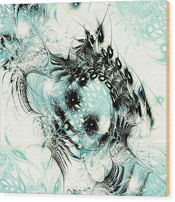 Snowy Owl Wood Print by Anastasiya Malakhova