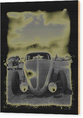 So Cal Vw Wood Print by Steve McKinzie