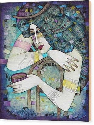 So Many Memories... Wood Print by Albena Vatcheva