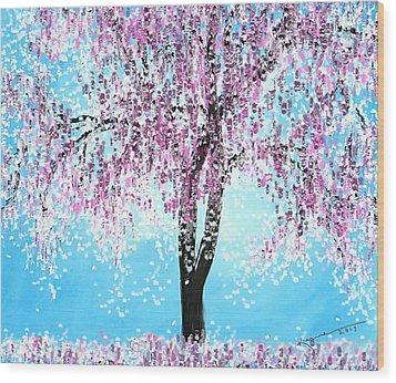 So Spring Wood Print by Kume Bryant