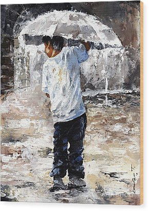 Soaked Wood Print by Emerico Imre Toth