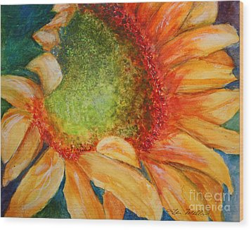 Soaking Up The Sun Wood Print by Terri Maddin-Miller