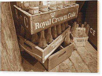 Soda In The Corner Wood Print by David Lee Thompson
