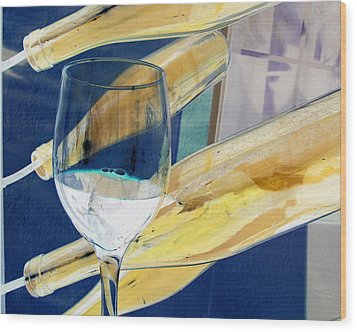 Wood Print featuring the photograph Soda Or Wine Is Fine by Marie Neder