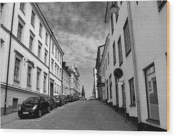 Sodermalm Sweden Wood Print