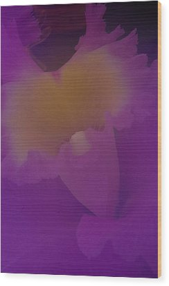 Wood Print featuring the photograph Soft Orchid by Ken Dietz
