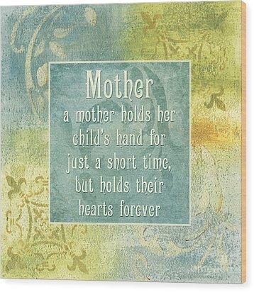 Soft Spa Mother's Day 1 Wood Print by Debbie DeWitt