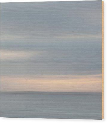 Soft Sunset La Jolla Wood Print by Carol Leigh