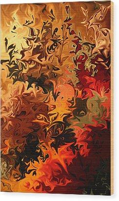 Soild Water 6 Wood Print by Joel Loftus