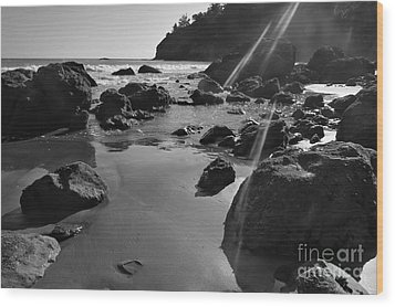 Muir Beach  Wood Print by Scott Cameron