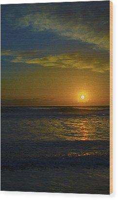 Solar Rise Wood Print