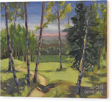 Sold - Grass Is Always Greener Wood Print