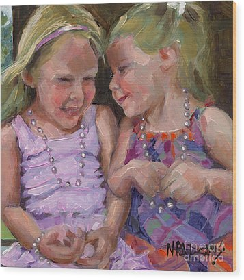 Sold Silly Sister Secrets Wood Print