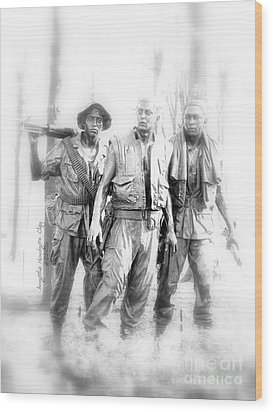Soldiers Never Forgotten Wood Print