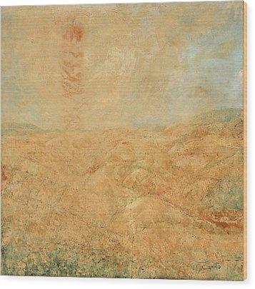 Sole Del Leone Di Forenza Wood Print