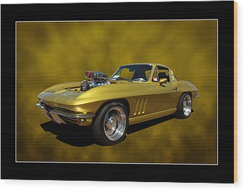 Wood Print featuring the photograph Solid Gold by Keith Hawley