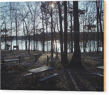 Wood Print featuring the photograph Solitude by Fortunate Findings Shirley Dickerson