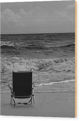 Wood Print featuring the photograph Solitude by Tom DiFrancesca