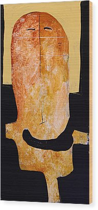 Sollemne No. 4 Wood Print by Mark M  Mellon