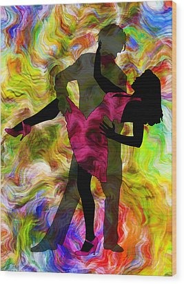 Some Like It Hot 1 Part 2 Wood Print by Angelina Vick