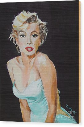 Wood Print featuring the painting Some Like It Hot by Judy Kay