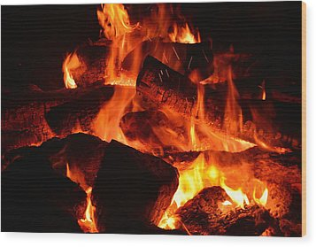 Some Like It Hot Wood Print