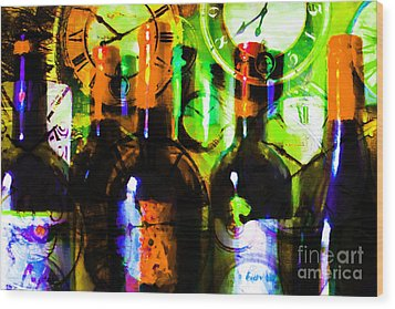 Some Things Get Better With Time P28 Wood Print by Wingsdomain Art and Photography