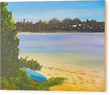 Somento Victoria Australia Wood Print by Pamela  Meredith