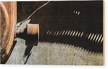 Wood Print featuring the photograph Something Old - Abstract by Steven Milner