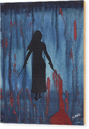 Something Wicked This Way Comes Wood Print by Jim Stark
