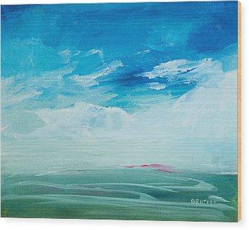 Somewhere Beyond The Sea Wood Print
