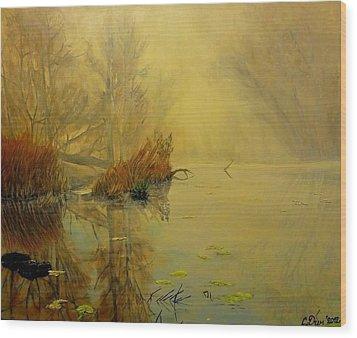 Somewhere Wood Print by Svetla Dimitrova