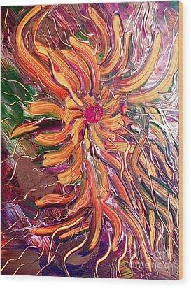 Sommer Wood Print by Nico Bielow
