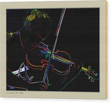 Wood Print featuring the photograph Sonata by Pedro L Gili