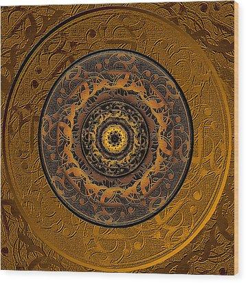 Song Of Heaven Mandala Wood Print